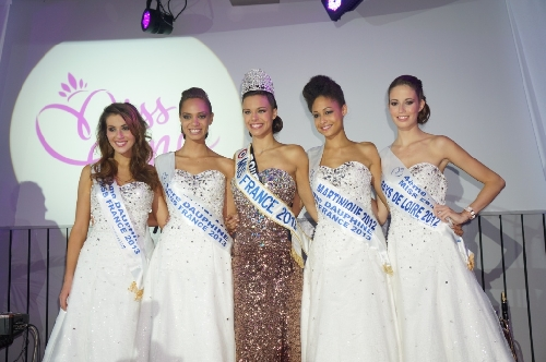 Marine LORPHELIN : MiSS FRANCE 2013 et ses dauphines
