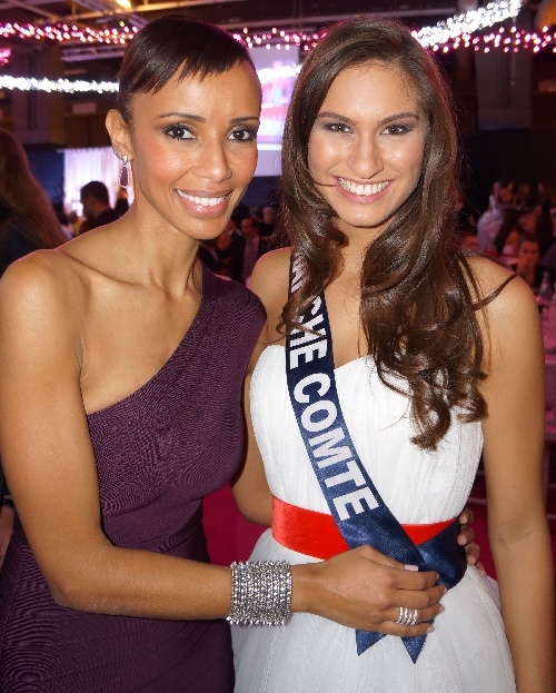 Avec Sonia ROLLAND : Miss FRANCE 2000