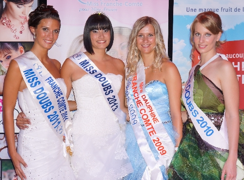 les Miss DOUBS